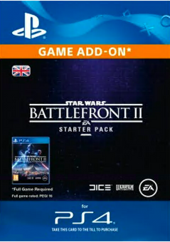 Star Wars Battlefront 2 Starter Pack PS4
