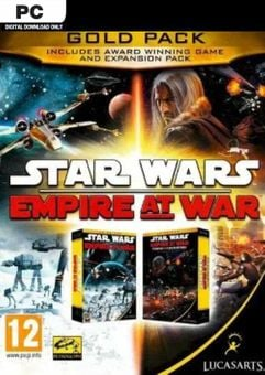 STAR WARS Empire at War - Gold Pack PC