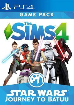 The Sims 4 Star Wars Journey to Batuu PS4 DLC (EU)