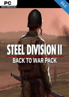 Steel Division 2 - Back To War Pack PC - DLC