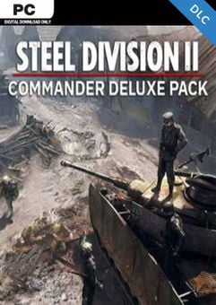 Steel Division 2 - Commander Deluxe Pack PC - DLC
