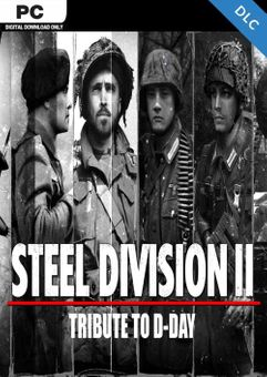 Steel Division 2 - Tribute to D-Day Pack PC - DLC