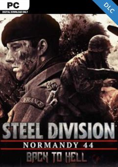 Steel Division Normandy 44 - Back to Hell PC DLC