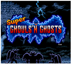 Super Ghouls´n Ghost 3DS - Game Code (ENG)