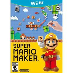 Super Mario Maker Nintendo Wii U - Game Code