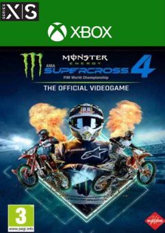 Monster Energy Supercross 4 Xbox Series X|S (UK)