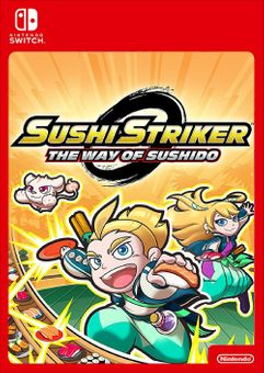 Sushi Striker: The Way of Sushido Switch (EU)