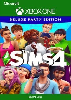 The Sims 4 Deluxe Party Edition Xbox One (US)