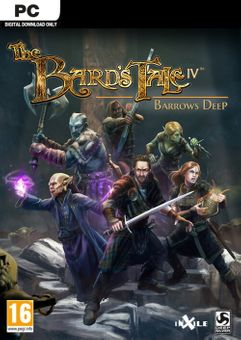 The Bards Tale IV 4 Barrows Deep PC