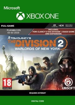 The Division 2 - Warlords of New York Edition Xbox One (UK)