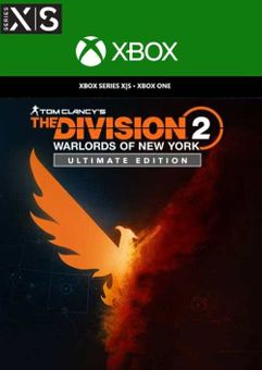The Division 2 - Warlords of New York - Ultimate Edition Xbox One/ Xbox Series X|S