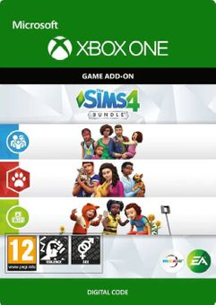 The Sims 4 Bundle - Cats & Dogs, Parenthood, Toddler Stuff  Xbox One (UK)