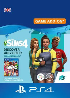 The Sims 4 - Discover University PS4 (UK)