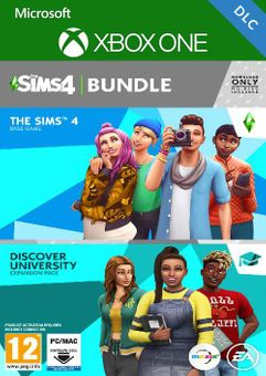 The Sims 4 Plus Cats & Dogs Bundle Xbox One (UK)