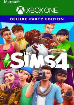 The Sims 4 Deluxe Party Edition Xbox One (UK)