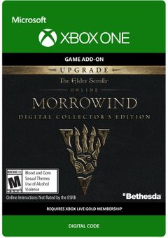 The Elder Scrolls Online Morrowind Collectors Edition Upgrade Xbox One