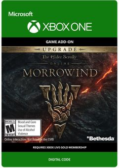 The Elder Scrolls Online Morrowind Upgrade Xbox One
