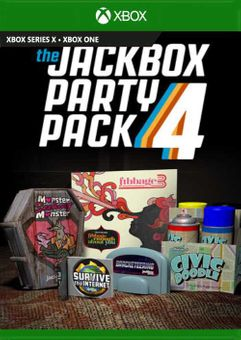 The Jackbox Party Pack 4 Xbox One (UK)