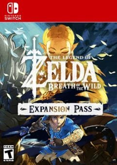 The Legend of Zelda: Breath of the Wild Expansion Pass Switch (US)
