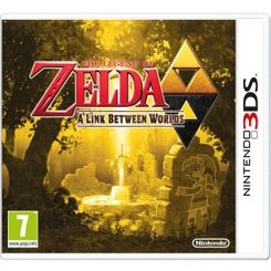 The Legend of Zelda A Link between Worlds 3DS - Game Code