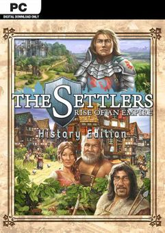 The Settlers: Rise of an Empire - History Edition PC (EU)