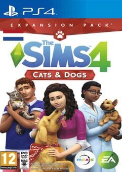 The Sims 4 - Cats & Dogs Expansion Pack PS4 (Netherlands)
