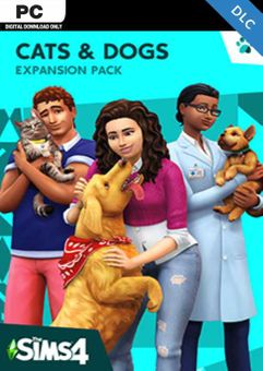 The Sims 4 - Cats and Dogs Expansion Pack PC (EU)