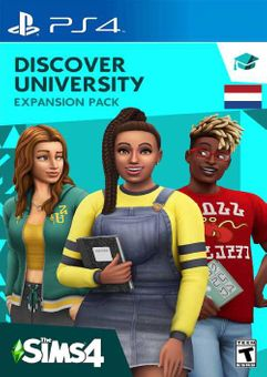 The Sims 4 - Discover University Expansion Pack PS4 (Netherlands)