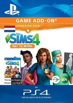 The Sims 4 - Get to Work Expansion Pack PS4 (Netherlands)