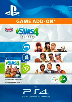 The Sims 4 - Bundle PS4