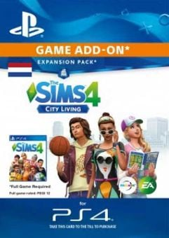 The Sims 4 - City Living Expansion Pack PS4 (Netherlands)