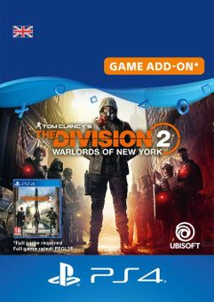 Tom Clancy's The Division 2 - Warlords of New York - Expansion PS4 UK