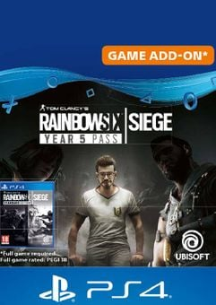 Tom Clancy's Rainbow Six Siege - Year 5 Pass PS4 (UK)
