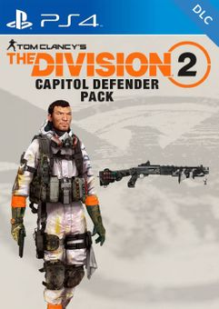 Tom Clancys The Division 2 PS4 - Capitol Defender Pack DLC (EU)