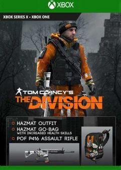 Tom Clancy's The Division - Hazmat Gear Set DLC Xbox One (EU)