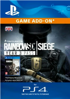 Tom Clancys Rainbow Six Siege: Year 3 Pass PS4