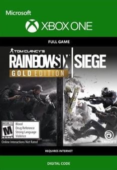 Tom Clancys Rainbow Six Siege Year 3 Gold Edition Xbox One