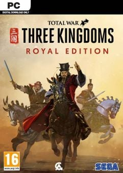 Total War: Three Kingdoms Royal Edition PC (WW)