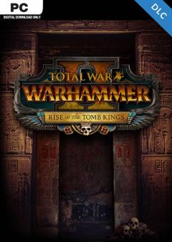 Total War: Warhammer II 2 PC - Rise of the Tomb Kings DLC (EU)