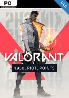 Valorant 1950 Riot Points PC