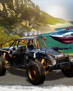 Just Cause 3 PC - The Weaponized Vehicle Pack DLC
