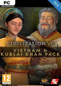 Sid Meier's Civilization VI - Vietnam & Kublai Khan Civilization & Scenario Pack PC DLC (Epic)