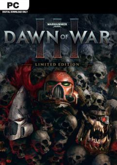 Warhammer 40,000 Dawn of War III Limited Edition PC (EU)