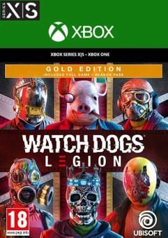Watch Dogs: Legion - Gold Edition Xbox One/Xbox Series X|S (US)
