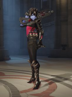 Overwatch - Widowmaker Noire Skin DLC PC
