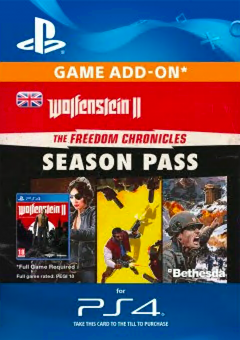 Wolfenstein II 2: The Freedom Chronicles Season Pass PS4