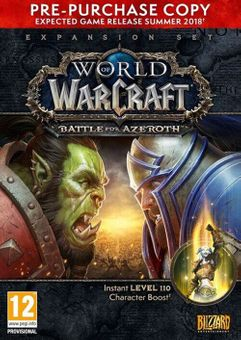 World of Warcraft (WoW) Battle for Azeroth - PC (EU)
