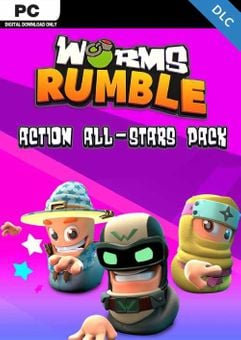 Worms Rumble - Action All-Stars Pack PC - DLC