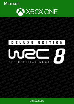 WRC 8 Deluxe Edition FIA World Rally Championship Xbox One (UK)