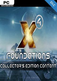 X4: Foundations Collector's Edition - Extra Content PC - DLC